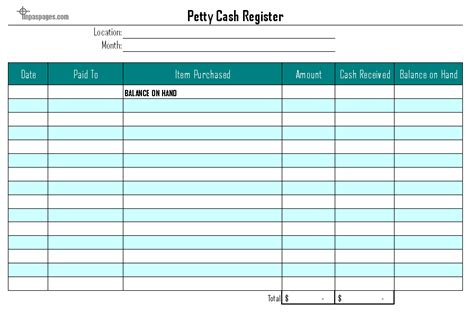 petty template 8 petty log templates excel templates