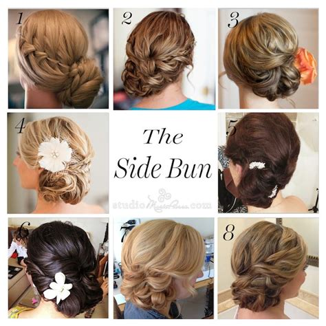 25 best ideas about wedding side buns on