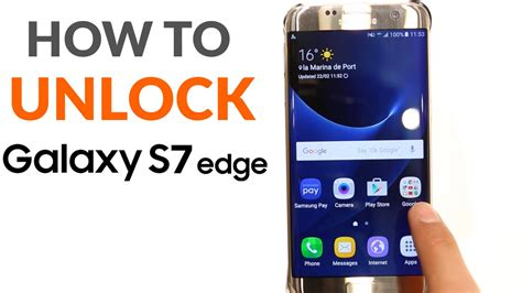 Unlock Samsung Galaxy S7 Edge  Any Carrier Worldwide