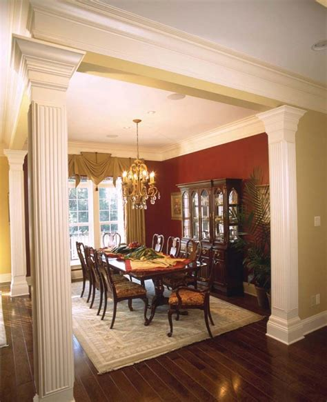 prentiss manor colonial home  images open dining room dining room remodel outdoor