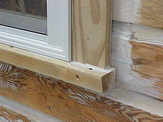 Exterior Window Sill Installation by Side Casing Around New Window New House Exterior