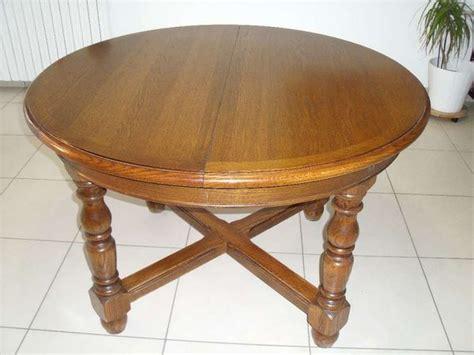 table de cuisine escamotable table ronde ovale rallonge clasf