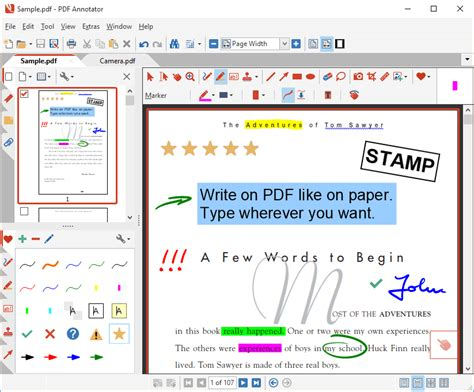 annotator annotate edit comment handwrite