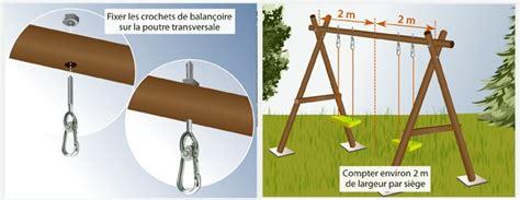 siege balan輟ire comment fabriquer une balançoire