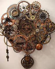 Steampunk Clock Gears