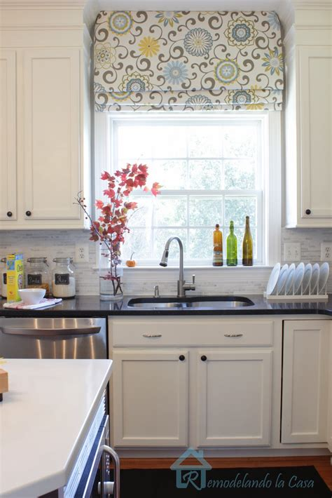 kitchen blind ideas give your shades a new look remodelando la casa