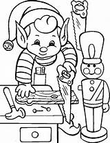 Coloring Pages Elf Elves Christmas Printable Activity Clipartmag sketch template