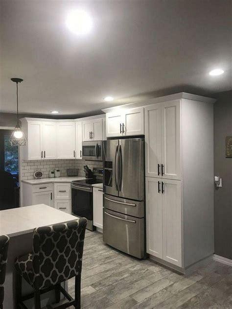 wow brilliant small kitchen renovation white shaker