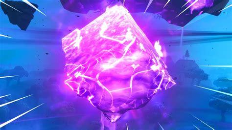 fortnite cube  cracked open youtube