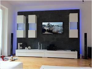 Wohnzimmer Tv Wand Modern Wohnzimmer House Und Dekor