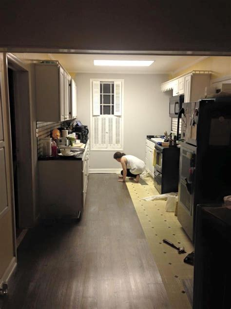 kitchen floor installation love diy then you should get to know amber