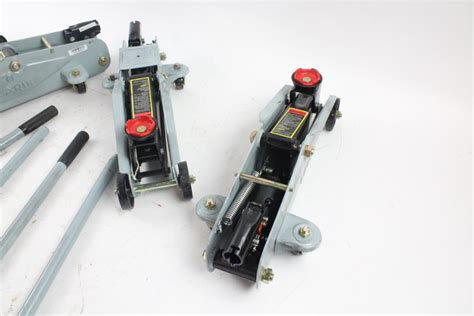 Larin Hydraulic Floor Jacks, 4 Pieces