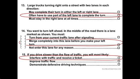 2017 Dmv Learners Permit Test Part 5 Pass Get Your License