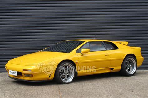 download car manuals 1995 lotus esprit parking system sold lotus esprit s4 2 2lt turbo coupe auctions lot 11 shannons