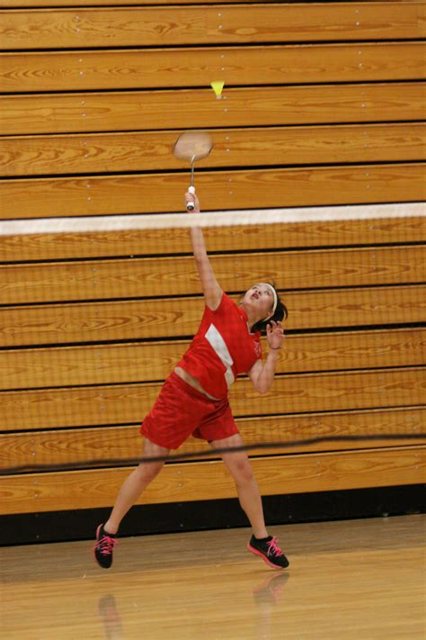 spring sports preview amy xiong  breaks  badminton