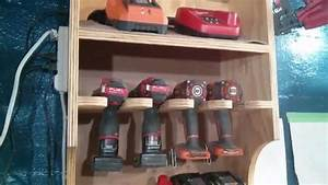 My Version of Jay Bates' Drill Charging Station - YouTube