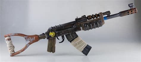 rust 3d printed ak 47 game weapon craft awesome props own printing prop gun guns overwatch salvaged axe project