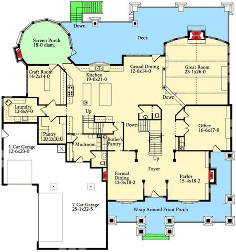 Plan 9543RW: Three Levels of Luxury Floor plans House