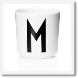 design letters initial melamine cups mee mee london With design letters cup
