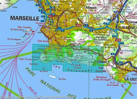 Carte Sud Cassis by Carte Ign Des Calanques De Marseile 224 Cassis La