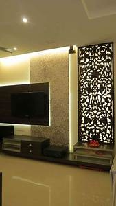 2bhk flat by priyanka jadhav interior designer in navi for Home furniture design pune