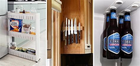 Very Small Kitchen Storage Ideas - 10 smart storage hacks for your small kitchen food hacks wonderhowto