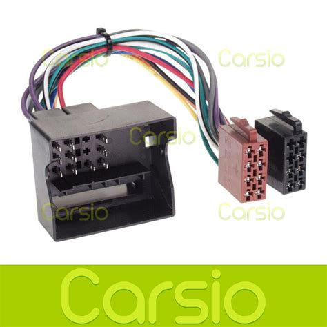 Ford Focus Iso Lead Wiring Harness Connector Stereo