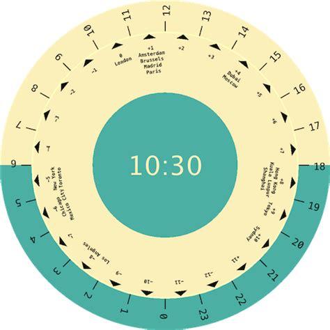time converter world clock