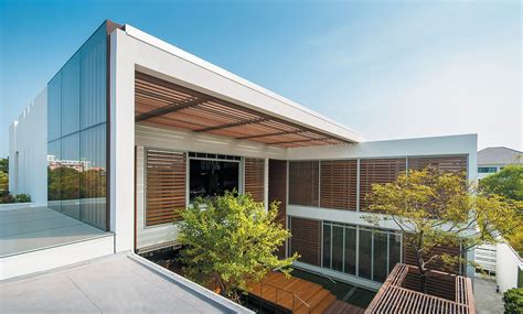Combination Of Nature And Architecture In The