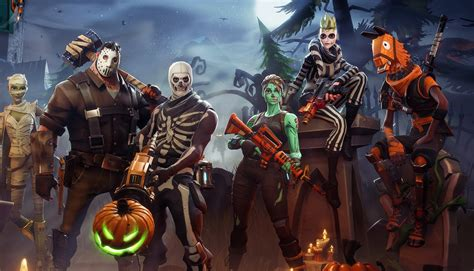 fortnite   halloween decorations    map