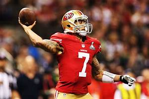 Colin Kaepernick in Super Bowl XLVII - Baltimore Ravens v ...