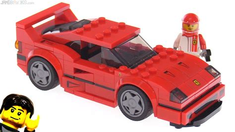 lego f40 lego speed chions f40 review 75890