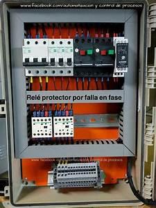 Tablero De Arranque De Motores Trifasicos Con Protecci U00f3n