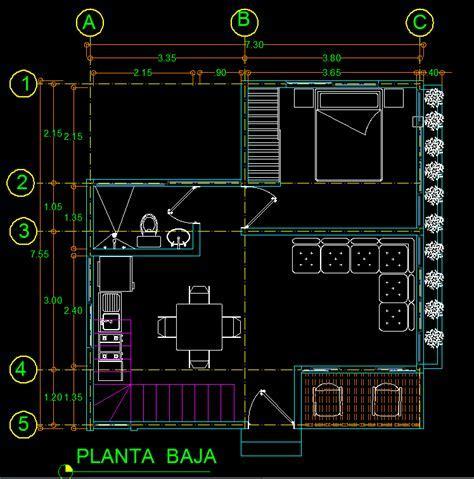 Cottage 2D DWG Plan for AutoCAD ? Designs CAD