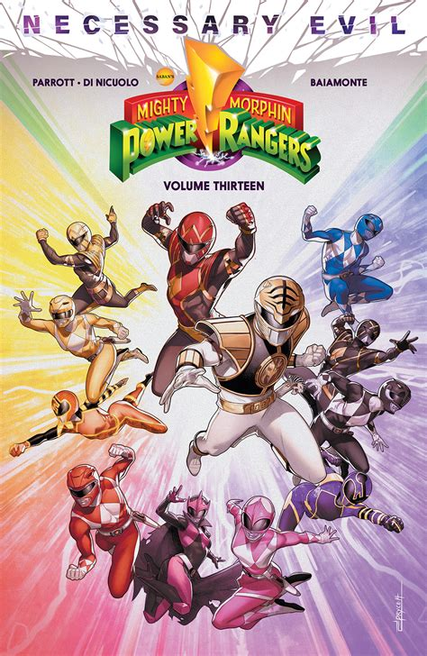JUL200905 - MIGHTY MORPHIN POWER RANGERS TP VOL 13 ...