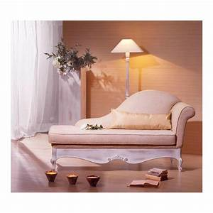 Chaise Longue De Salon : chaise longue de salon tissu rose glamour ~ Teatrodelosmanantiales.com Idées de Décoration