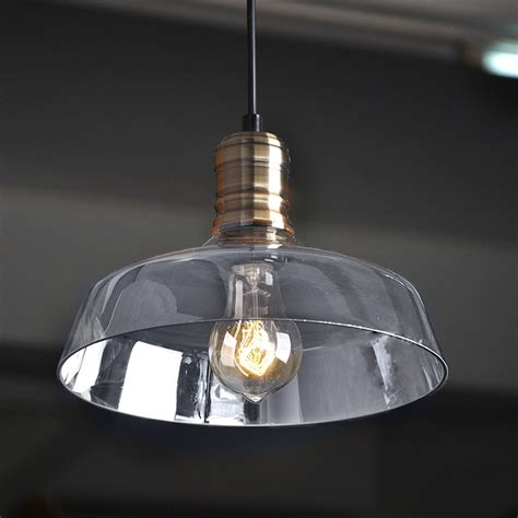 glass bowl pendant light baby exit