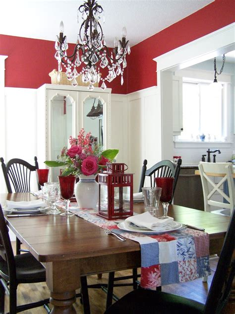 delorme designs red dining rooms part