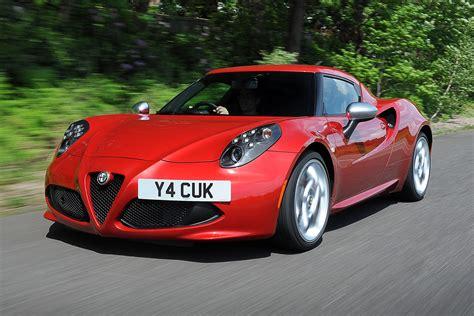 siege auto alfa romeo alfa 4c sports car and giulietta hatchback in the