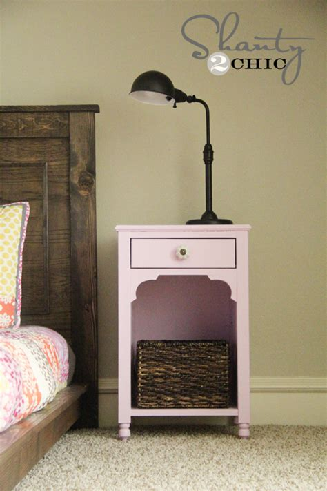 Plans For Nightstand by White Nightstand Diy Projects