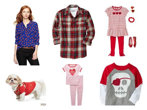 Valentineu0026#39;s Day Outfits for the Whole Family