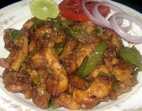 chicke dishes my dhaba chilly chicken