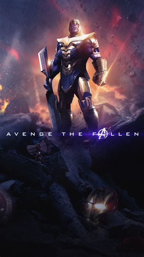 thanos  avengers endgame  wallpapers hd wallpapers