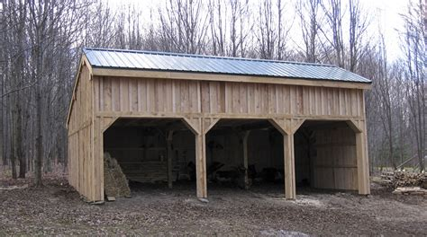 what is a pole shed open air tractor shed barns of carolina