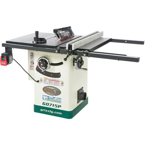 best price table saw grizzly table saw grizzly g0715p polar bear series hybrid