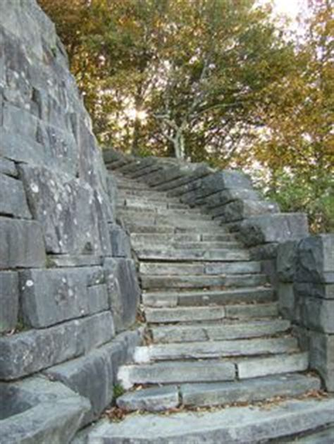 images  curved stone steps  pinterest