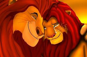 Lion King Simba and Mufasa - Bing images