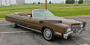 Cadillac Eldorado Cabriolet : 1972 cadillac eldorado convertible ~ Medecine-chirurgie-esthetiques.com Avis de Voitures