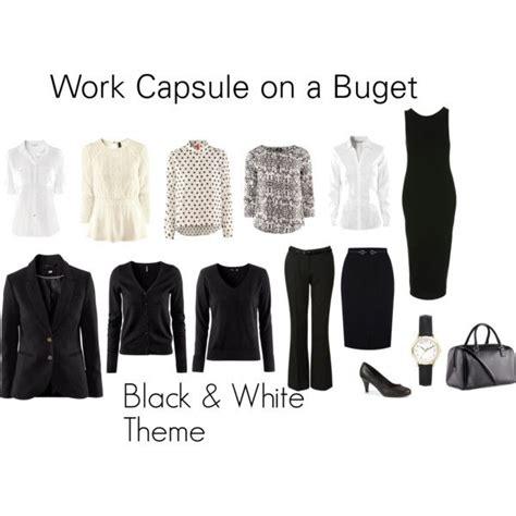 Wardrobe Basics On A Budget by Work Wardrobe On A Budget Capsule Dressing Work