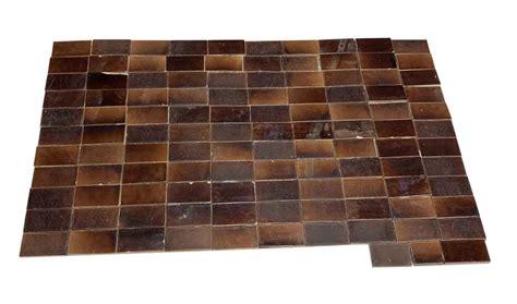 brown wall tile set olde good